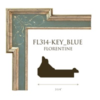 FL314-KEY_BLUE | 3 1/4""