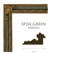 SP214_GREEN | 2 1/4""